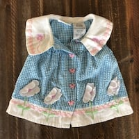 Vintage Cradle Togs Dress 6-9 Months PALMDALE