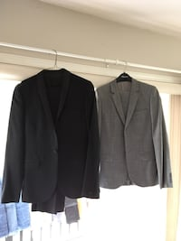 Two topmans two piece suits. Pants size 30 jackets are med. Kelowna, V1Y 5G6