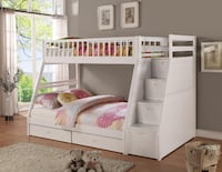 Brand new in box bunk bed with storage Mississauga