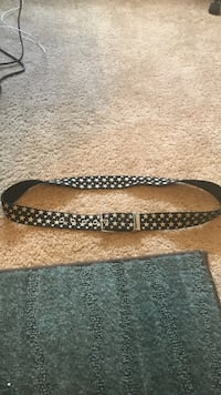 Black and Silver Star Belt Fort Rucker, 36362