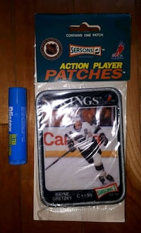 Écusson NHL Wayne Gretzky patch 20$