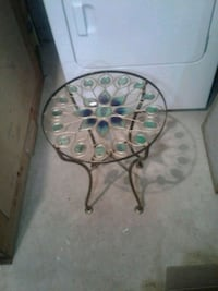 Metal end table 5$