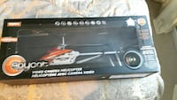 Spycot video camera helicopter box