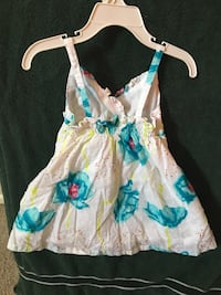 white, blue, and pink floral sleeveless dress North Las Vegas, 89031