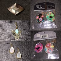 Lot of 6 pendants/charms