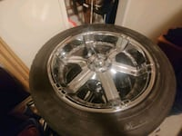 FALKEN RiMS + SNOW/Mud tires...265/50R20 Burnaby, V5C 4S5