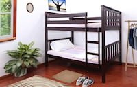Twin/twin bunk bed with mattresses IN STOCK -2630 Niles st