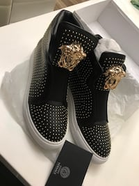 Versace Palazzo Golden Rivet size 7 Silver Spring, 20904