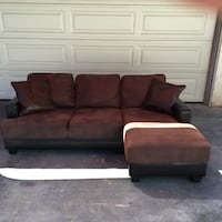 7 ft sectional couch (free delivery 20 miles) Lakeside