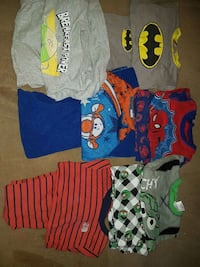 2t boys pj's 6 pairs all are 15 $ Brampton, L6S 4T2
