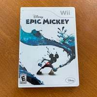 Epic Mickey Wii Game Quincy, 02169