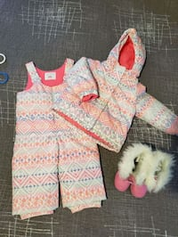 Snowsuit and  boots  Thorold