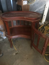 Nice cabinet with remove able tray New York