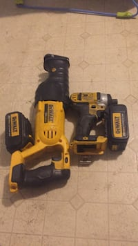 1/4 impact drill  with battery and variable speed reciprocating saw Frederick, 21701