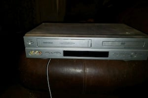Daewoo dvd/vcr combo mp3 player $40 or best offer