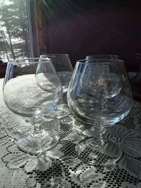New - Brandy Glasses Val-des-Monts, J8N 7T1