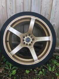 Gold Racing Wheels for sale