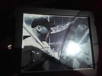 grey wooden framed grayscale photo of 2 baseball players Palm Bay, 32909