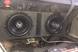 "Audio pipe 12"" 3000watt subwoofers"