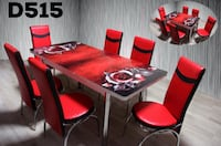 DINING TABLE SET 7 PC Dallas