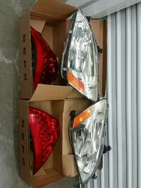 2006 Honda Headlights and Tailights 69 km