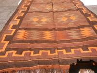 brown and red area rug Los Angeles, 91335
