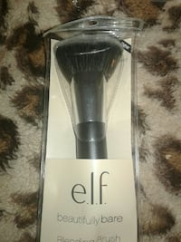 black E.L.F. makeup brush with pack
