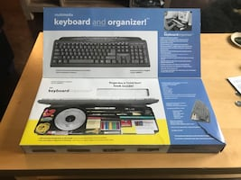 Keyboard and organizer