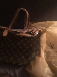 black and brown Louis Vuitton monogram tote bag Chester, 19013