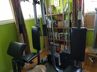 black and red exercise equipment FORTWAYNE