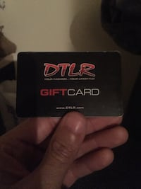 Dtlr card with 563$ for $400 District Heights, 20747