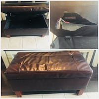 brown wooden bed frame collage Hamilton, L8B 0S4