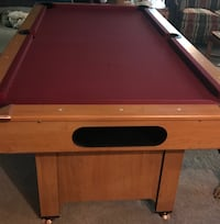 Minnesota Fats pool table  Lake Ariel, 18436