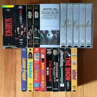 Films & coffets VHS movies & box sets
