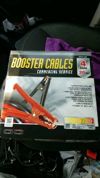 Booster cables commercial service.. Raleigh