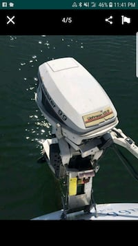 white and black outboard motor Spring Valley, 91977