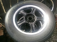 gray 5-spoke vehicle wheel and tire Citrus Heights, 95621