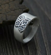 Antique Vintage 990 Sterling Silver Thumb Ring  Wichita, 67213