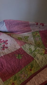 white, green, and pink floral textile Ramsey, 55303