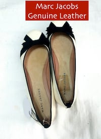 MARC JACOBS Genuine Leather Ballerina Flats - Excellent Condition. Toronto