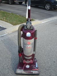 MUST SELL TODAY HOOVER WIND TUNNEL WITH CYCLONIC HEPA VACUUM CLEANER GREAT SHAPE & READY TO CLEAN ONLY $60.00 FIRM! Mississauga