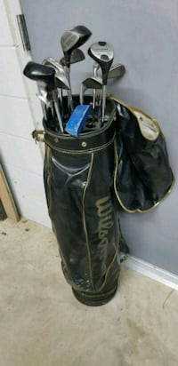 Gold clubs and bag Prospect, 40059