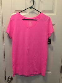 Women's XXL - Hot Pink Yoga Shirt - New W/Tags