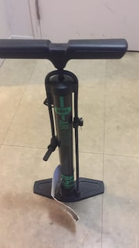 Black and green Air pump for cycles and football