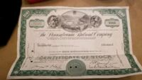 A certified 100 shares of the Pennsylvania company Millersville, 21108