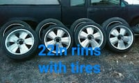 6spoke car wheel with tire set Perry Hall, 21128