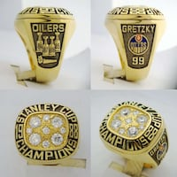 Oilers Stanley cup ring Mississauga