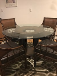 4 Chair Dining Room Table Set WOBURN