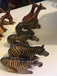 wooden animal table decors Ottawa