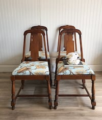 4 Oak Dining Chairs Centreville, 20120